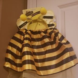 Other - Toddler bumble bee skirt and bumble bee headband
